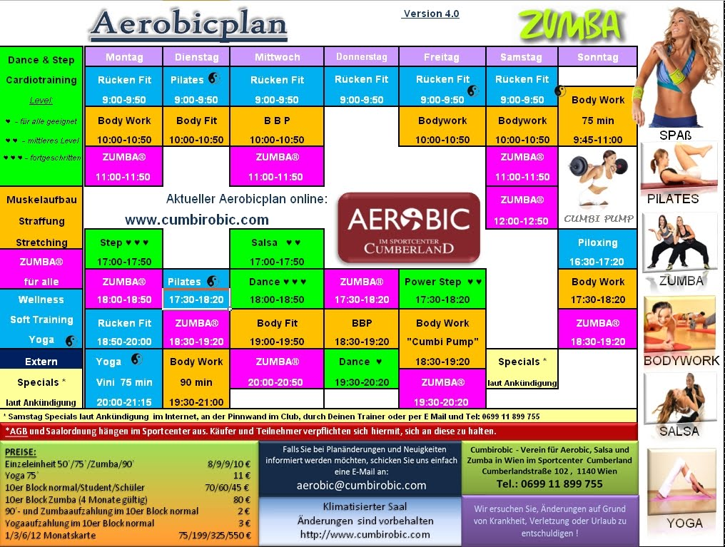 Aerobic Fitness Plan